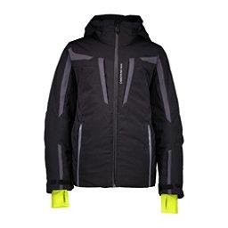 Obermeyer Mach 9 Boys Ski Jacket, Black, 256