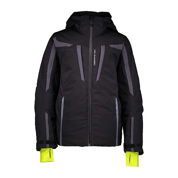 Obermeyer Mach 9 Boys Ski Jacket, Black, 600
