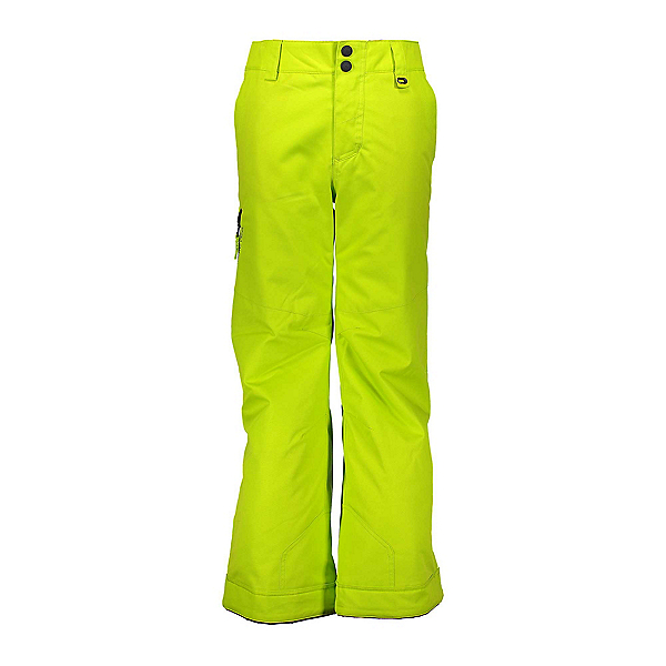 Obermeyer Brisk Kids Ski Pants, Green Flash, 600