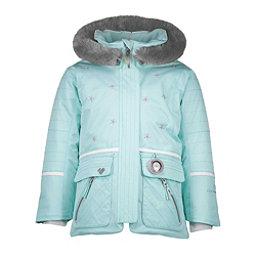 7ae037b5f Obermeyer Lindy Toddler Girls Ski Jacket, Sea Glass, 256