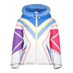 Obermeyer Allemande w/Faux Fur Toddler Girls Ski Jacket, White, 256