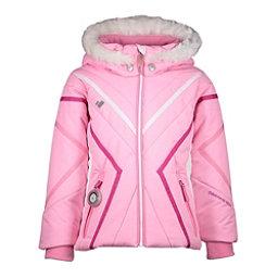 Obermeyer Allemande w/Faux Fur Toddler Girls Ski Jacket, Sugar Berry, 256
