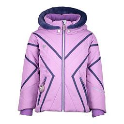 Obermeyer Allemande w/Faux Fur Toddler Girls Ski Jacket, Violetta, 256