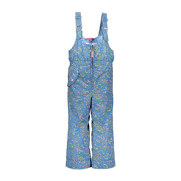 Obermeyer Snoverall Print Toddler Girls Ski Pants, Honeysuckle Blue Print, 600