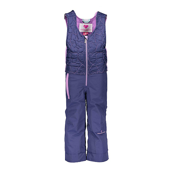 Obermeyer Ober-All Bib Toddler Girls Ski Pants, Pacifico, 600