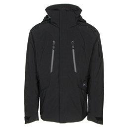 Obermeyer Troika System Mens Insulated Ski Jacket, Black, 256