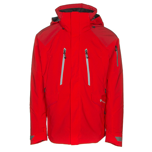 Obermeyer Troika System Mens Insulated Ski Jacket, Red, 600