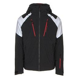 Obermeyer Foundation Mens Insulated Ski Jacket, White, 256