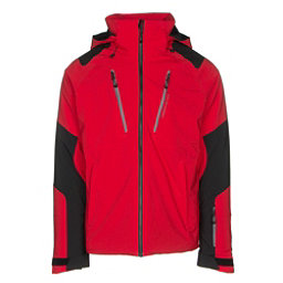 Obermeyer Foundation Mens Insulated Ski Jacket, Red, 256