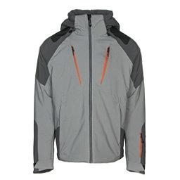 Obermeyer Foundation Mens Insulated Ski Jacket, Zinc Grey, 256