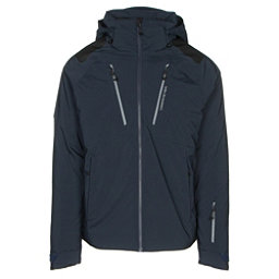 Obermeyer Foundation Mens Insulated Ski Jacket, Nocturnal Blue, 256