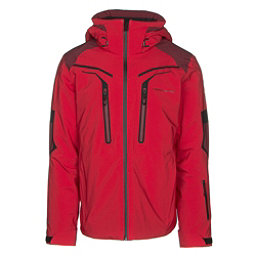 Obermeyer Charger Mens Insulated Ski Jacket, Volcanic Red, 256