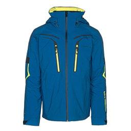 Obermeyer Charger Mens Insulated Ski Jacket, East Wind Blue, 256