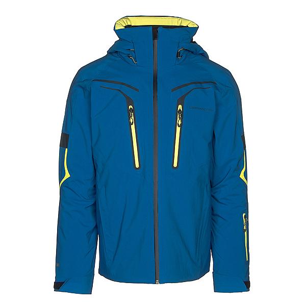 Obermeyer Charger Mens Insulated Ski Jacket, East Wind Blue, 600
