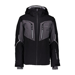 Obermeyer Charger - Tall Mens Insulated Ski Jacket, Black, 256