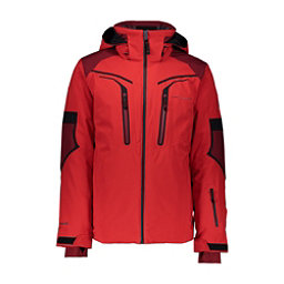 Obermeyer Charger - Tall Mens Insulated Ski Jacket, Volcanic Red, 256