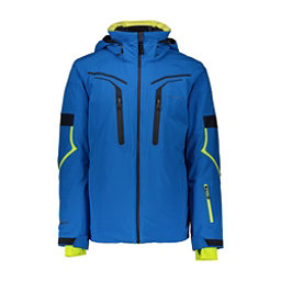 Obermeyer Charger - Tall Mens Insulated Ski Jacket, East Wind Blue, 256