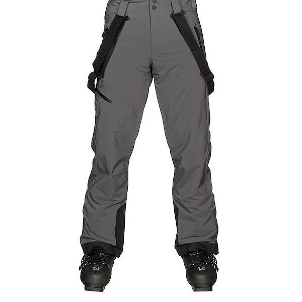 Obermeyer Force Suspender Mens Ski Pants, Grey Matter, 600