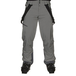 Obermeyer Force Suspender Mens Ski Pants, Zinc Grey, 256
