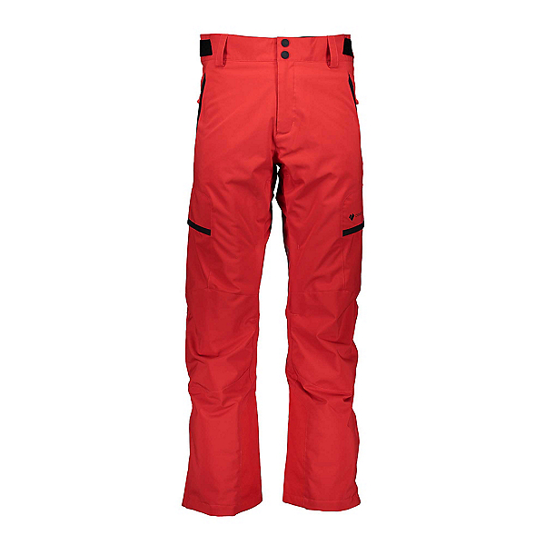 Obermeyer Orion Mens Ski Pants, Volcanic Red, 600
