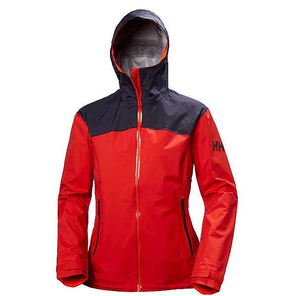 Helly Hansen Vanir Reisen Womens Shell Ski Jacket, Meltdown, 600