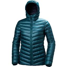 Helly Hansen Verglas Hooded Down Insulator Womens Jacket, Midnight Green, 256