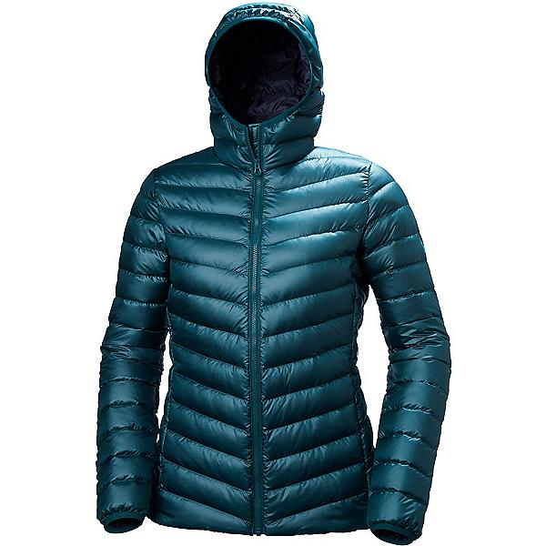 Helly Hansen Verglas Hooded Down Insulator Womens Jacket 2018, Midnight Green, 600