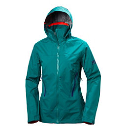 Helly Hansen Vanir Salka Womens Shell Ski Jacket, Everglade, 256