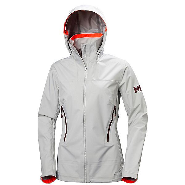Helly Hansen Vanir Salka Womens Shell Ski Jacket, Ash Grey, 600