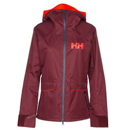 Helly Hansen Powderqueen Womens Insulated Ski Jacket, Port, 256
