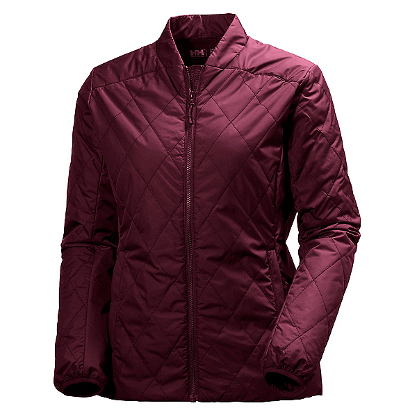 Helly Hansen Powderqueen Insulator Womens Jacket, Port, 600