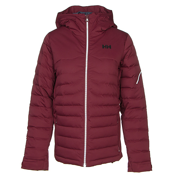 Helly Hansen Limelight Womens Insulated Ski Jacket, Port, 600