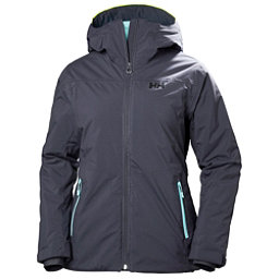Helly Hansen Sunvalley Womens Insulated Ski Jacket, Graphite Blue, 256