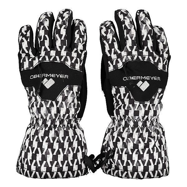 Obermeyer Regulator Womens Gloves 2020, Black And Bianco, 600