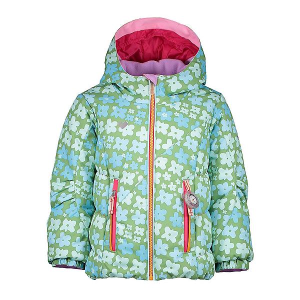 Obermeyer Cakewalk Toddler Girls Ski Jacket 2019, Flowerful Print, 600