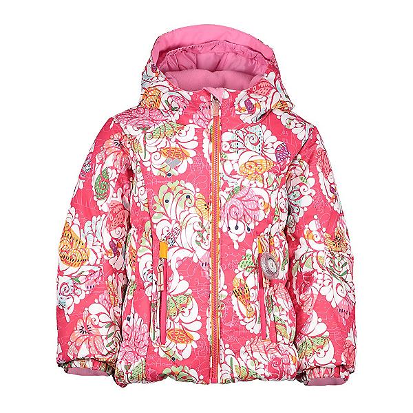 Obermeyer Cakewalk Toddler Girls Ski Jacket, Frost Garden Print, 600