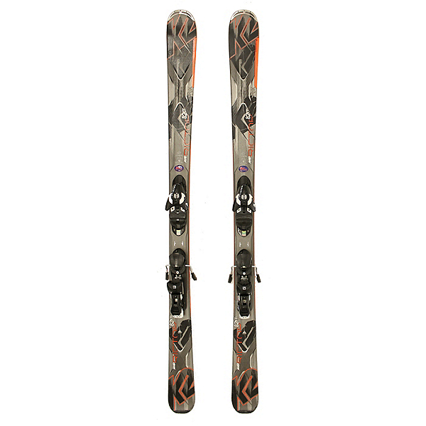 Used 2015 K2 AMP Rictor 82 Xti Skis Salomon Z10 Bindings A Condition, , 600