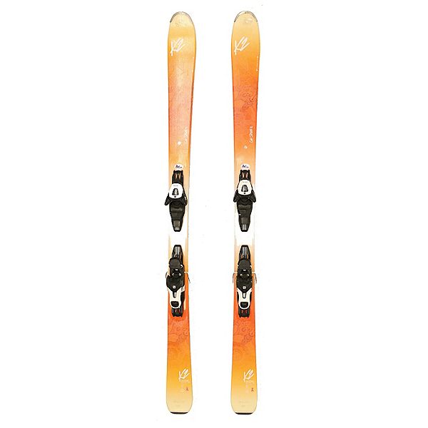 Used 2017 Womens K2 Luv Struck Skis Salomon L10 Bindings A Condition, , 600