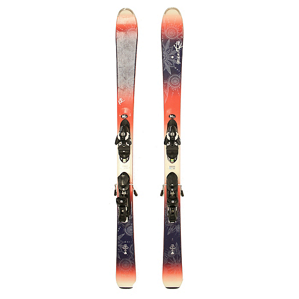 Used 2016 Womens K2 OooLaLuv Skis Salomon Z10 Bindings A Condition SALE, , 600