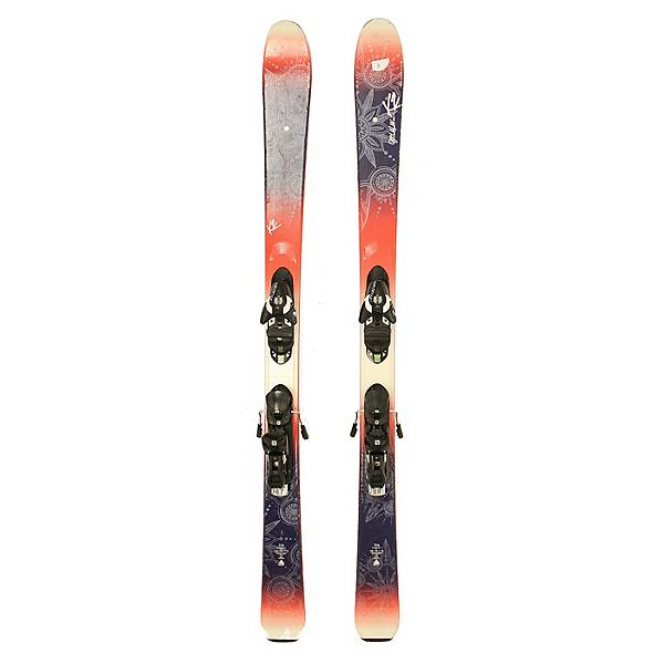 Used 2016 Womens K2 OooLaLuv Skis Salomon Z10 Bindings C Condition SALE, , 600