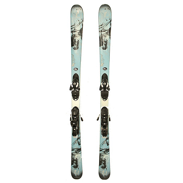 Used 2015 Womens K2 Potion 76 Skis Salomon Z10 Bindings C Condition, , 600