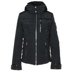 Obermeyer Hadley Womens Insulated Ski Jacket, Black, 256