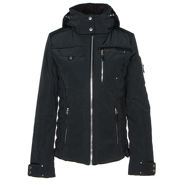 Obermeyer Hadley Womens Insulated Ski Jacket, Black, 600