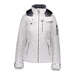 Obermeyer Hadley Womens Insulated Ski Jacket, White, 256