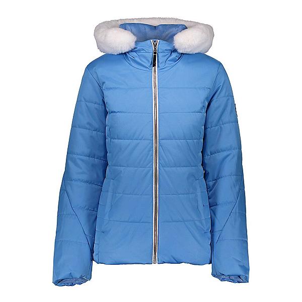 Obermeyer Beau w/ Faux Fur Womens Insulated Ski Jacket, Pool Party, 600