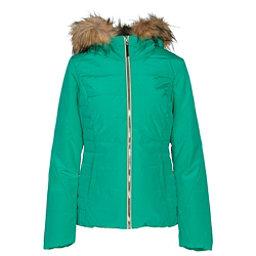Obermeyer Beau w/ Faux Fur Womens Insulated Ski Jacket, Green #7, 256