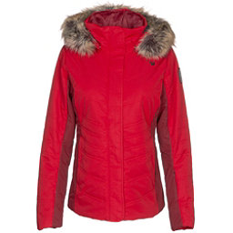 Obermeyer Tuscany II w/Faux Fur Womens Insulated Ski Jacket, Red Bravado, 256