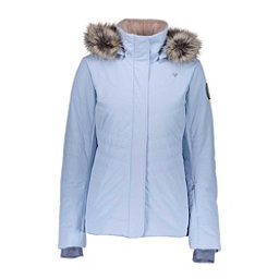 Obermeyer Tuscany II w/Faux Fur Womens Insulated Ski Jacket, Icescape Blue, 256