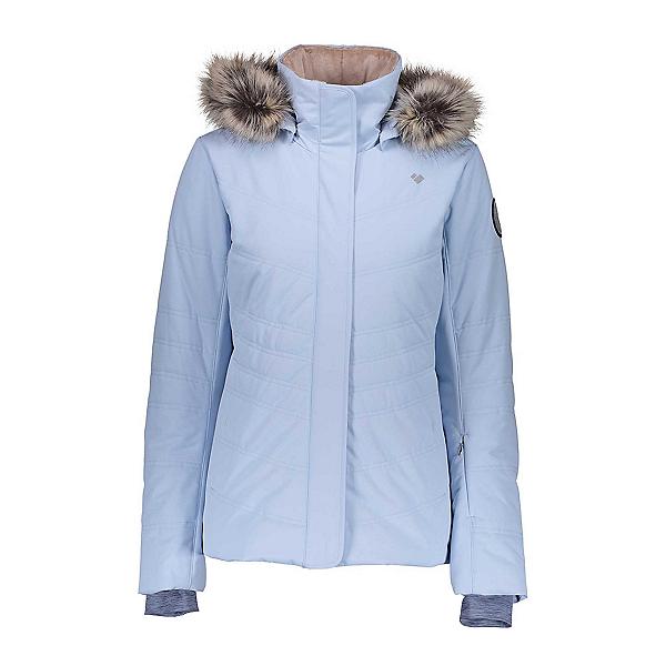 Obermeyer Tuscany II w/Faux Fur Womens Insulated Ski Jacket, Icescape Blue, 600