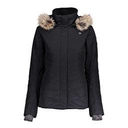 Obermeyer Tuscany II w/ Faux Fur - Petite Womens Insulated Ski Jacket, Black, 256